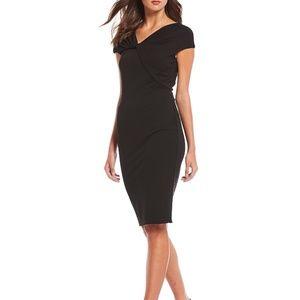 NWT Donna Karan New York Twist Neckline Dress